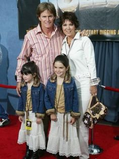 kris jenner photos when she was young | Bruce Jenner and Kris Jenner with their kids several years ago