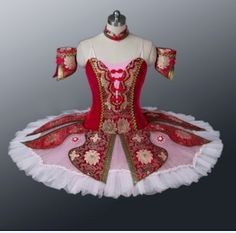 Classical Professional Ballet Tutu Oriental Red Tailor Made To Fit Any Size!!! | eBay