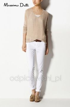 Sweter 100% Len Massimo Dutti Collection EUR 38