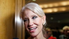 Kellyanne Conway celebrated Donald Trump's inauguration by punching a man in the face, says a Fox News Business correspondent who claims he saw the whole thing go down. The White House has so far declined to respond to requests for comment.