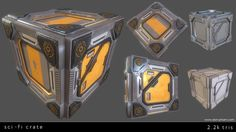 Sci-Fi crate, Don Pham on ArtStation at https://www.artstation.com/artwork/8BZ3n