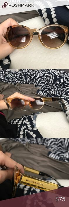 *NEVER WORN BEFORE: BURBERRY SUNGLASSES Never before worn Burberry sunglasses with tag Burberry Accessories Glasses