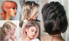 Účesy z polodlhých vlasov: Skroť vlasy štýlovo Hair Beauty, Dreadlocks, Hair Styles, Hair Plait Styles, Hair Makeup, Hairdos, Haircut Styles, Dreads, Hair Cuts