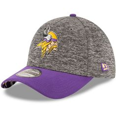 Adult New Era Minnesota Vikings 2016 NFL Draft 39THIRTY Flex-Fit Cap ($32) ❤ liked on Polyvore featuring men's fashion, men's accessories, men's hats, ovrfl oth and mens caps and hats