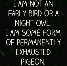 Pinned this before, but feeling like that pigeon today lol