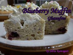 Não Contém Gluten: Blueberry Muffin Não Contém Gluten & Lactose