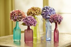 Color your World- with Recycled Bottles! #DIY #DesignMaster #inspiration