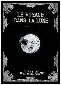 Le Voyage Dans La Lune Movie Poster, available at 45x32cm.This poster is printed on matt coated 350 gram paper.