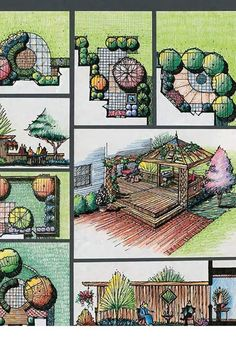 14 Clever Landscape Design Plans and Improvements for a Small Backyard – Simphome - New ideas Architecture Concept Diagram, Landscape Architecture Drawing, Landscape And Urbanism, Landscape Sketch, Landscape Design Plans, Garden Design Plans, Landscape Drawings, Site Plan Design, Landscaping
