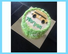MARBLE CAKE MADE FOR YOUNG AARYAN TURNING TWO