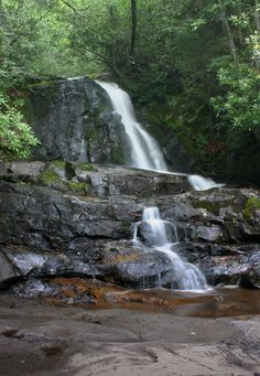 Laurel Falls, Great Smoky Mountain national park....had a great time hiking the trail and playing in the falls with the kids last summer!