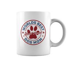 Basset Hound Worlds Best Dog Mom Coffee Cup Mug