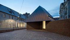 #Architecture in #France - #Museum Unterlinden by Herzog & de Meuron, ph Ruedi Walti