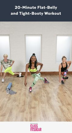 A Flat-Belly and Tight-Booty Workout Celebs Love
