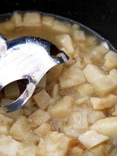 Supa crema de telina Garlic Press, Kitchen, Food, Art, Cream, Art Background, Cooking, Kitchens, Essen