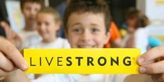 A scene from LIVESTRONG Day  #cancer