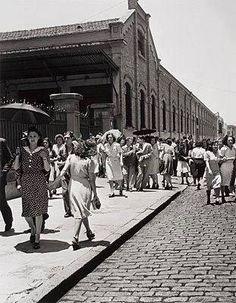 Fábrica de Juta no Bairro do Brás em São Paulo/SP nos anos 50.