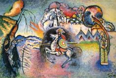 Le cavalier bleu, par Wassily Kandinsky