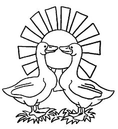 Libás kifestők (goose) - mivagyunk.lapunk.hu Halloween, Craft, Animal Drawings, Birds, Spooky Halloween