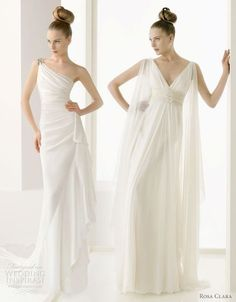 Greek wedding dress goddess drapped, vestido grego drapeado romano | http://aodaivietnamphotos.blogspot.com