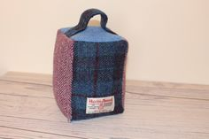 A personal favourite from my Etsy shop https://www.etsy.com/uk/listing/585102831/harris-tweed-handmade-door-stop
