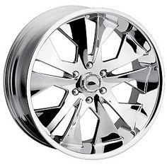 DIP D11 Chrome Wheels - JCWhitney