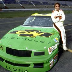 """Days OF Thunder"" Car..pictured with Tom Cruise"