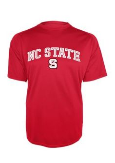 Knights Apparel Men s Nc State Motion Infinity Short Sleeve Tee - Nc State  Red - L 86ef9dbe8