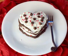 Food Fitness by Paige: Cookies & Cream Triple Layer Love Cakes