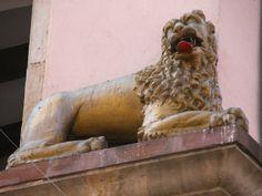 Le lion. Strasbourg.