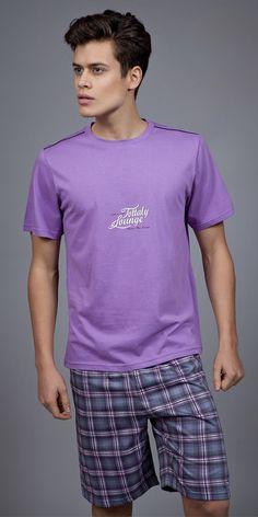 Men's Pyjamas S. Men's Fashion, Fashion Outfits, Pyjamas, Luxury, Clothing, Mens Tops, T Shirt, Collection, Style