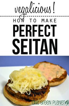 How to Make the Perfect Seitan http://onegr.pl/1yVGXHB #vegan #vegetarian #recipe #meatless