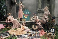 Adorable Pokémon characters and fashion campaigns magically collide.