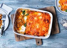 Made with butternut squash sheets instead of pasta, this pork lasagne is a tasty alternative to the classic