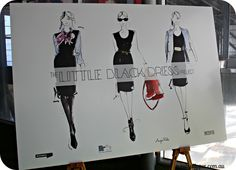Ruby Slipper at Businesschic's Little Black Dress Project book launch http://wp.me/pFgT9-Kn