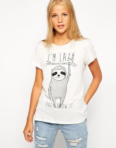 Pull&Bear Lazy T-Shirt
