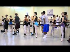 2012 Haverford School Boys Learn Ballet at The Rock School for Dance Education. THE JETES KILLED ME HAHAH