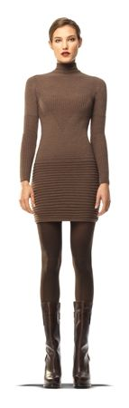 STRETCH CREPE SWEATER DRESS | MaxStudio