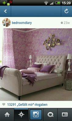 Hdj · Lila Schlafzimmer DekoIdeen ...