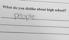 Funny School Answers Hilarious Truths 66 Ideas For 2019 Haha Funny, Hilarious, Hate School, Funny School, Middle School Memes, Funny Quotes, Funny Memes, Quote Aesthetic, Mood Pics