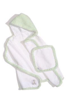 Little Giraffe 'Splash and Dry' Towel & Washcloth Set (Infant & Toddler) available at Nordstrom