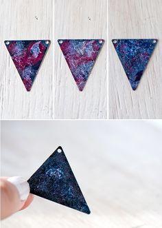 DIY Galaxy Necklace