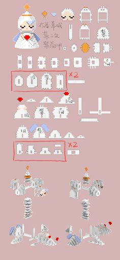 微博 Perler Beads, Hamma Beads 3d, Fuse Beads, Motifs Perler, Perler Patterns, Bead Crafts, Diy And Crafts, Arts And Crafts, Kawaii Diy