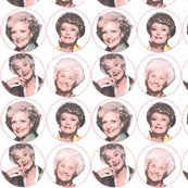 oh my gah somebody made a spoonflower fabric with the golden girls and it's fabulous!