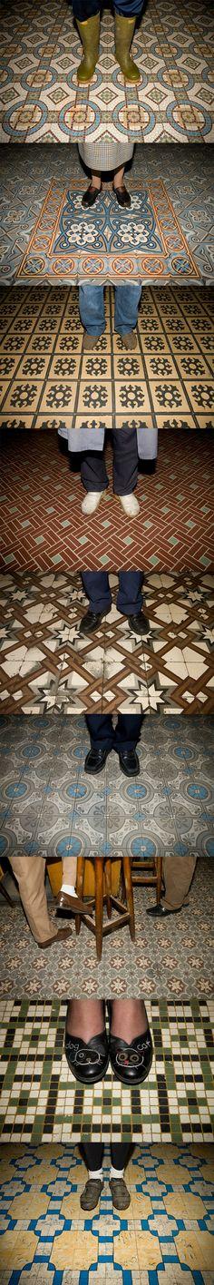 Jimmy Kets - Volkscafes-vloeren