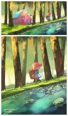 Adorable Animal Crossing fan art <3