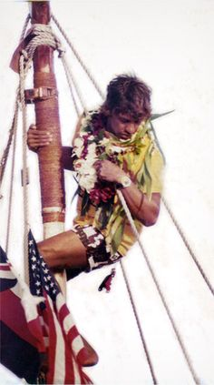 Eddie Aikau was selected to join the cultural expedition of the Polynesian voyaging canoe Hokule'a, which set sail from Magic Island, Oahu, bound for Tahiti, on March 16, 1978. Hokule'a soon encountered treacherous seas outside the Hawaiian Islands and the canoe capsized. After a wild night adrift, Aikau set off on his paddleboard on March 17 in search of help for his stranded crew members. He was never seen again. The ensuing search for Aikau was the largest air-sea search in Hawaii…