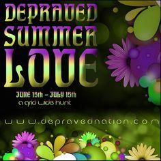 Depraved Summer Love Hunt 2012 June 15 - July 15th