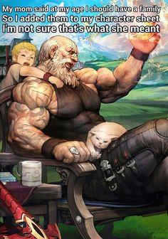 Grandfather by gongsang - lee changha - CGHUB Male Character, Character Portraits, Fantasy Character Design, Character Creation, Character Concept, Character Inspiration, Concept Art, Fantasy Warrior, Fantasy Rpg