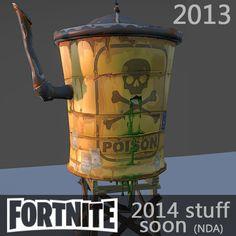 Fortnite Test - 2013, Tangi Bodio on ArtStation at https://www.artstation.com/artwork/VBNq4